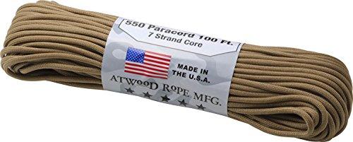 思い出させるペッカディロ負担アトウッドロープ(Atwood Rope) 登山 アウトドア 万能ロープ パラコード 太さ4mm