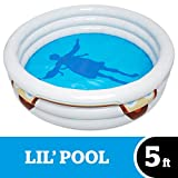 BigMouth Inc. Stranger Things Inflatable Sensory Deprivation Pool, Blow Up 5 Foot Kiddie Pool with Stranger Things Theme, Easy to Inflate/Deflate and Clean, Makes a Great Gift Idea