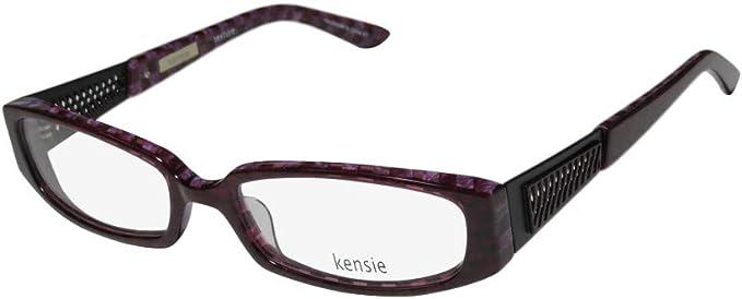 Kensie Designer Brille Fur Damen Mit Durchgehendem Rand Hochwertige Qualitat Eleganter Rahmen Amazon De Bekleidung