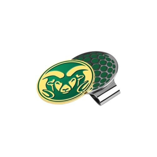 NCAA Colorado State Rams - Golf Hat Clip with Ball Marker Colorado State Rams Golf