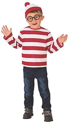 Rubie's Child's Where's Waldo Costume, ()