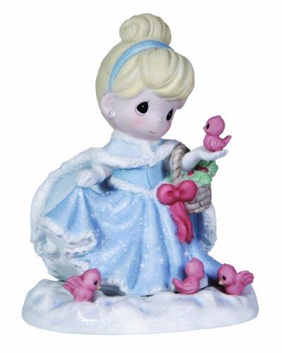 (Precious Moments Disney Cinderella with Birds Figurine)
