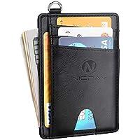 Nicpay Slim Minimalist Front Pocket RFID Blocking Wallets (various colors)