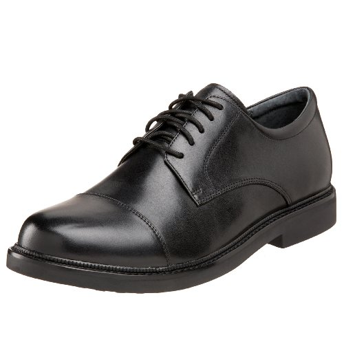 Apex Men's Lexington Cap Toe Oxford Sneaker, Black, 13 Medium US