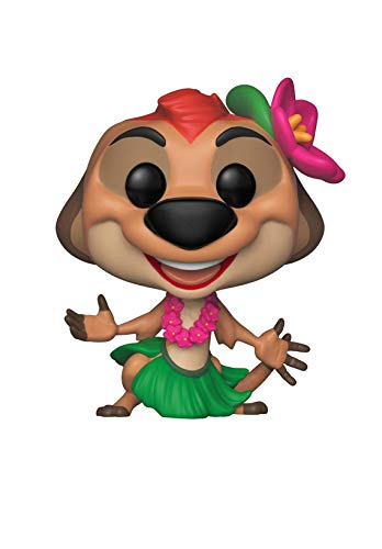 - Funko Pop! Disney: Lion King - Luau Timon Toy, Multicolor