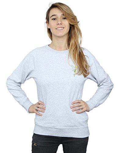 Pocket Camisa Gris Tinkerbell Cuero Entrenamiento De Mujer Disney 46fEn8xw