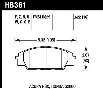 Front Hawk Performance HB247G.575 Disc Brake Pad