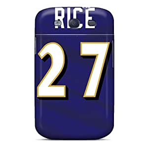 Samsung Galaxy S3 IGe7094ptYK Support Personal Customs Trendy Baltimore Ravens Series Great Hard Cell-phone Case -AaronBlanchette