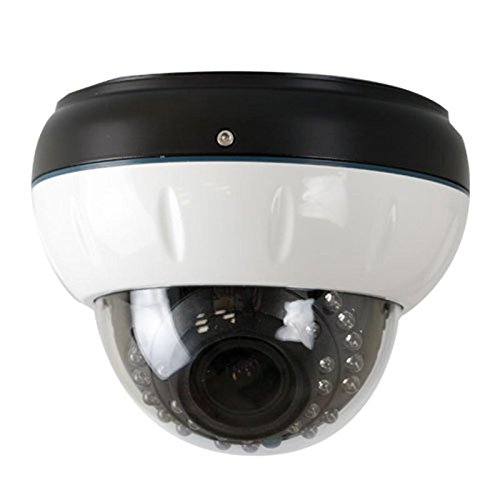 Color Ccd Bullet Resistant Camera (GW Security Inc GW-790WD-VD 1/3-Inch Sony CCD Surveillance Security Camera 700 TV Lines, 2.8 to 12mm Lens, 24 IR LEDs and 70-Feet IR Distance)