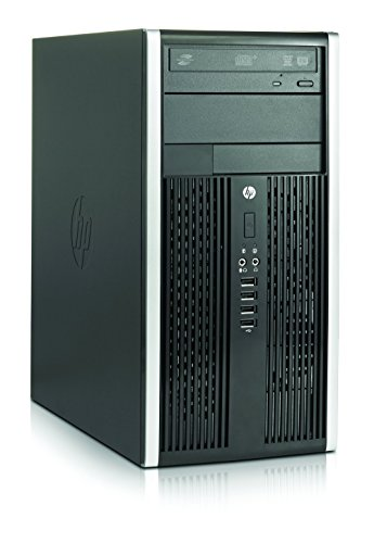 2017 HP Compaq Elite 6300 Tower Desktop PC, Intel Quad-Core i5-3470 3.2GHz, 8GB DDR3 RAM, 120GB SSD+3TB SATA HDD, DVD, WiFi, USB 3.0, Windows 10 Professional (Certified Refurbished)