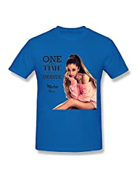 NEVALY Adult Men Ariana Grande One Last Time Summer T Shirt
