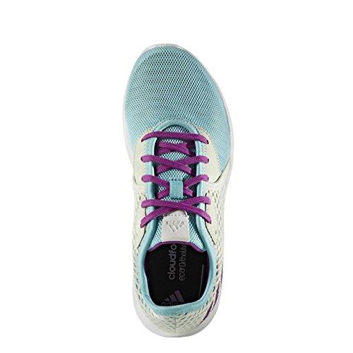adidas , Chaussures de course pour fille CBLACK/SOLRED/SORANG