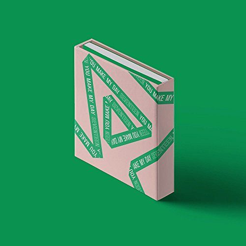 Price comparison product image Pledis Entertainment SEVENTEEN - YOU MAKE MY DAY [FOLLOW ver.] (5th Mini Album) CD+Photobook+Lyrics Paper+Photocards+Folded Poster
