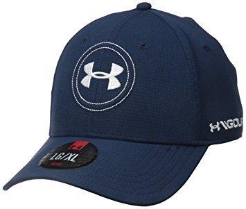 eac85ffeb Amazon.com: Under Armour UA Jordan Spieth Pro Tour Golf Cap (Academy ...