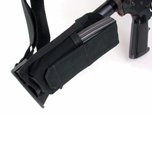 BLACKHAWK!!, Buttstock Mag Pouch, M4 Collapsible, Black