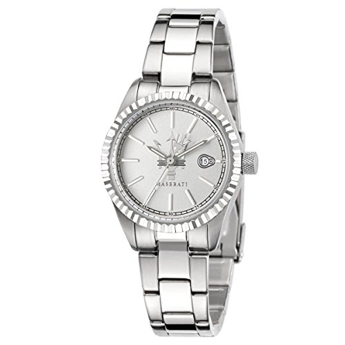 Maserati Women's R8853100503 Competizione Silver Steel Watch