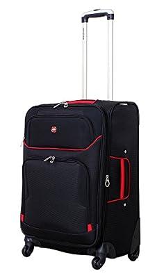 """SwissGear Travel Gear 24"""" Exp. Spinner Upright"""