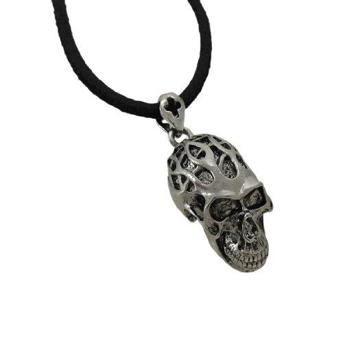 Metal Mens Pendant Necklaces Black