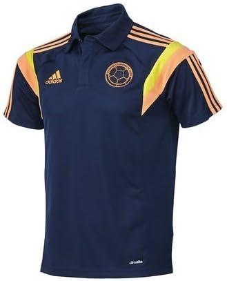 adidas Camisa Polo Seleccion Colombia Azul G77251 (M): Amazon.es: Deportes y aire libre