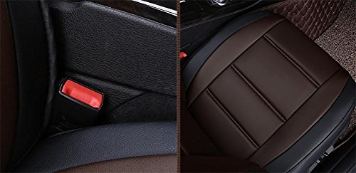 Set-Easy 5 seats car seat cushion filling and whole to clean leather Programmable Universal Fit seat covers car by YAOHAOHAO (Image #3)