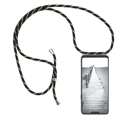 EAZY CASE Handykette kompatibel mit LG G7 ThinQ Handyhülle mit Umhängeband, Handykordel mit Schutzhülle, Silikonhülle…