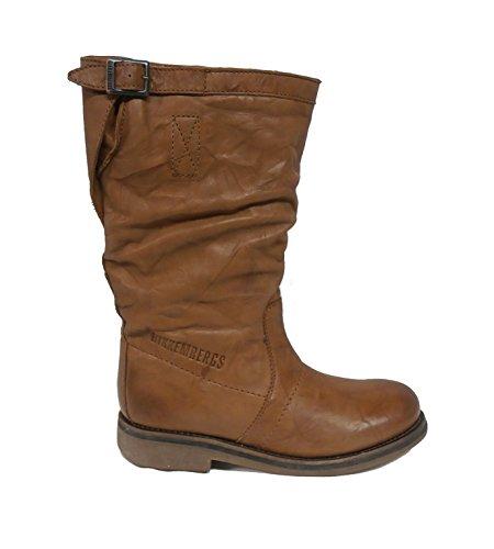 Girls' Bikkembergs Bikkembergs marrone marrone Girls' Bikkembergs Boots Boots Girls' cognac cognac Boots qwFSq
