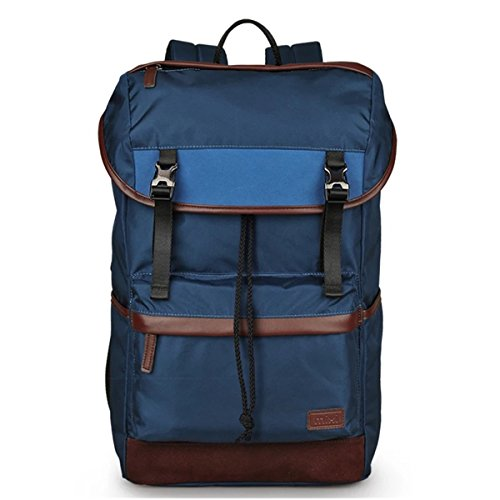 Large Water Resistant Nylon Laptop Backpack School Travel Outdoor Bag