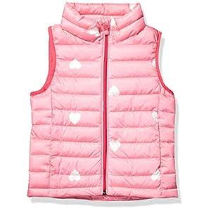 Amazon Essentials Girl's Lightweight Water-Resistant Packable Puffer Vest