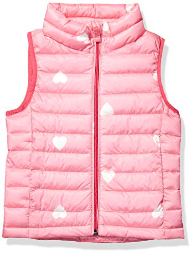 Amazon Essentials Girls' Lightweight Water-Resistant Packable Puffer Vest