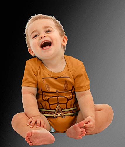 Baby Atlantian King Costume Bodysuit -