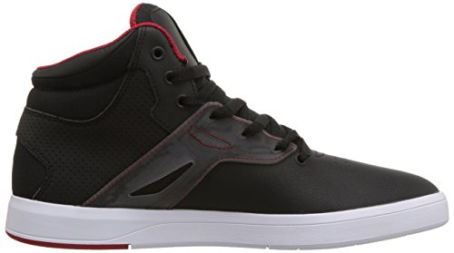 Men High Frequency Black White Red Skate Shoe Black DC HTUqxnwdCH