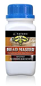 Kalsec Craft Brew Solutions Head Master™ Advanced Hop Extract [Liquid, 8 Oz. Bottle]