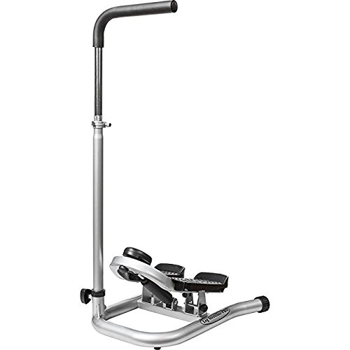 Taiwan Present GUNBELL Fitness Step Machine Pro Leg Stretcher with Adjustable Handle Bar, Flexible Stretch Level & LCD Display by Taiwan Present