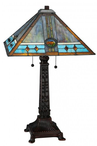Fine Arts Mission Rose (Meyda Tiffany 138776 Mission Rose Table Lamp, 26