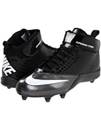 new styles c3a57 9e4b4 New Super Bad Strike D Molded Football Cleats Men Size 10.5 Black White