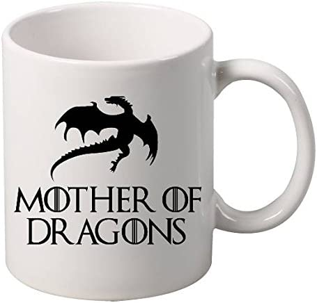 Amazon Com Allntrends Coffee Mug Mother Of Dragons Kitchen Dining