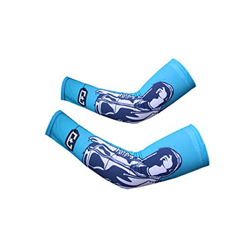 Jielongtongxun Arm Sleeves,Cooling Arm Sleeves,for Women Men Outdoor Sports, Football, Basketball,The line is Neat and fine, Large Stretch,Unisex