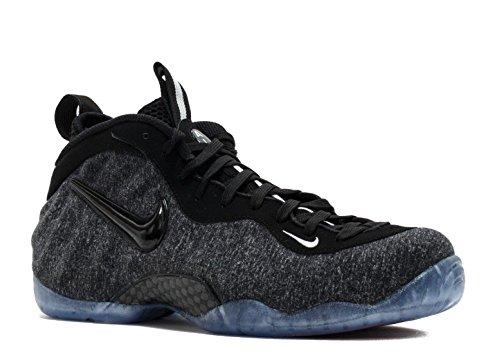 Nike Air Foamposite Pro Menns Basketball-sko 624041 Dk Grå Lyng, Svart-svart