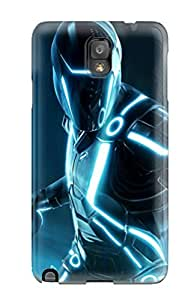 Protective Tpu Case With Fashion Design For Galaxy Note 3 (2010 Tron Evolution)