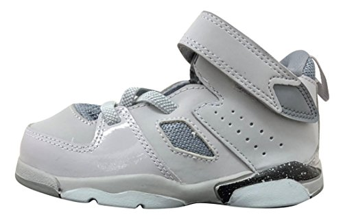 Jordan Flight Club '91 Wolf Grey/Black-Cool Grey (Toddler) (9 M US Toddler) by Jordan