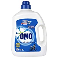 OMO Active Clean Laundry Liquid Detergent Front and Top Loader, 4L