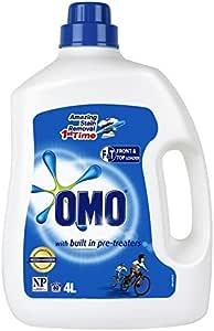 Omo Active Clean Laundry Liquid Detergent Front & Top Loader 4L