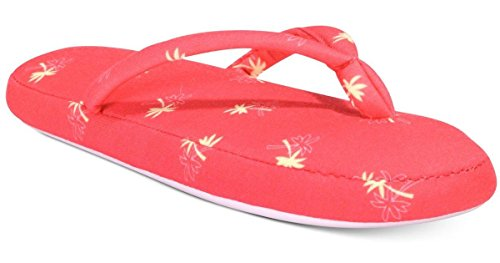 Charter Club Pink Thong Striped Lounge Womens Slippers rAOqr