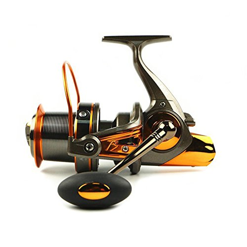 Fishing reels Big Mental Spool Spinning Reel with 13+1BB 4.6:1 Untra Smooth Powerful Freshwater and Saltwater Fishing Size 8000 For Sale