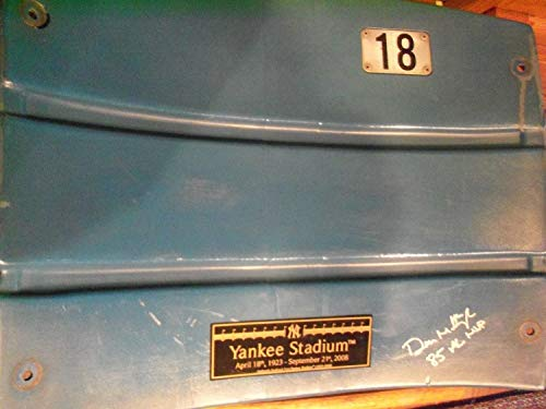 Stadium Seats Yankee - Don Mattingly Autographed Signed Yankee Stadium Seat Back - Authentic Memorabilia
