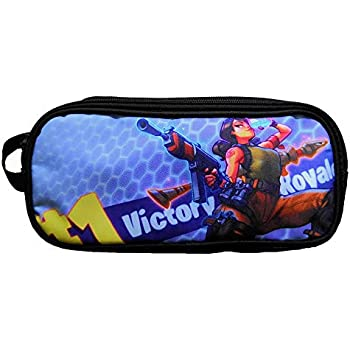 Amazon.com : ViLin Game Pencil Case Cosmetic Bag Pen Bag ...