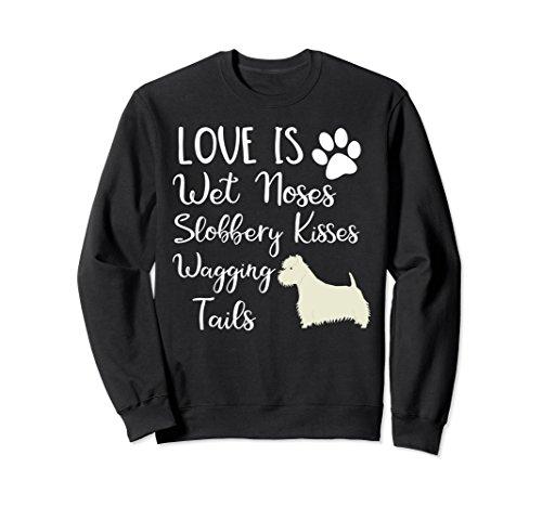 (Unisex I love My West Highland White Terrier Dog Sweatshirt Westie 2XL Black)