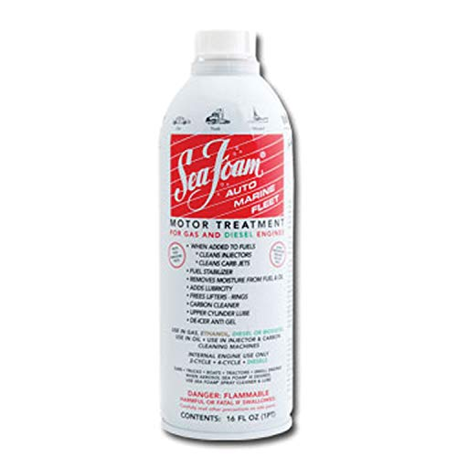 Piston Fill Converter - Sea Foam 1 Pack (16 Ounce) Extreme Marine & Rv SF-16 Seafoam Liquid 16 Fl Oz