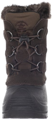 Kamik Snowdasher WK4315 - Botas de ante para niños, color beige, talla 38 Marrón