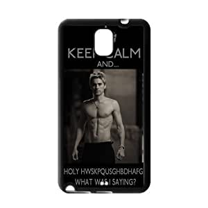 Vcapk Popular Rock Band 30 Seconds To Mars Lead Singer Handsome Jared Leto Samsung Galaxy Note 3 TPU(Side:Silicon Back:TPU)Phone Case